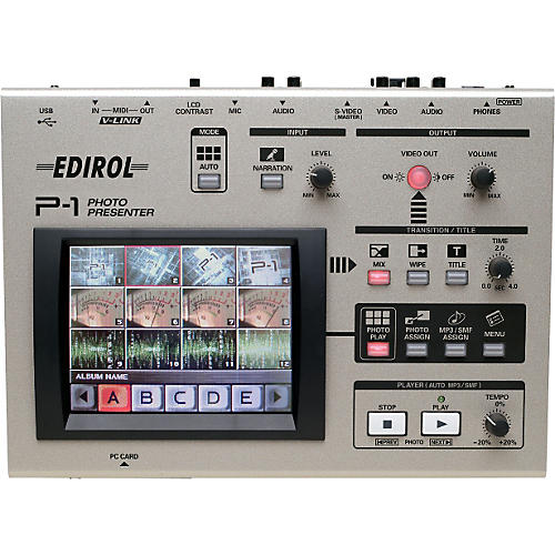 Nektar P-1 Photo/Music Player-thumbnail