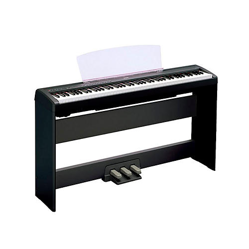 Yamaha P-105 88-Key Weighted-Action Digital Piano with L85 Wood Stand