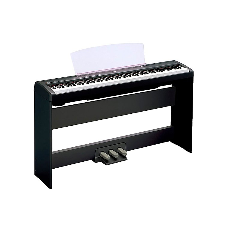 Yamaha p 115 88 key weighted action digital piano with ghs action musician 39 s friend for Yamaha fully weighted keyboard