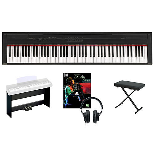 Yamaha P-105 Keyboard Package 1