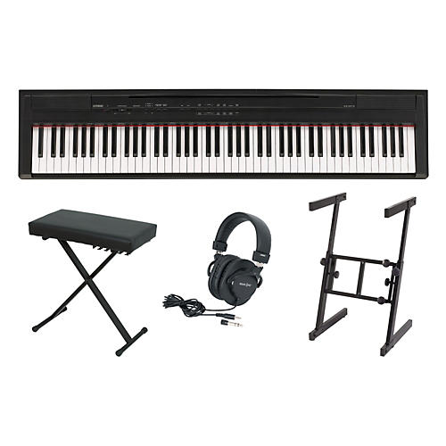 yamaha p 105 keyboard package 2 musician 39 s friend. Black Bedroom Furniture Sets. Home Design Ideas