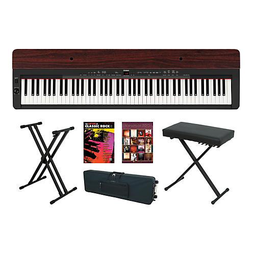 Yamaha P-155 Rosewood Keyboard Package 4-thumbnail