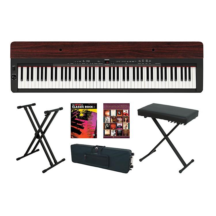 YamahaP-155 Rosewood Keyboard Package 4