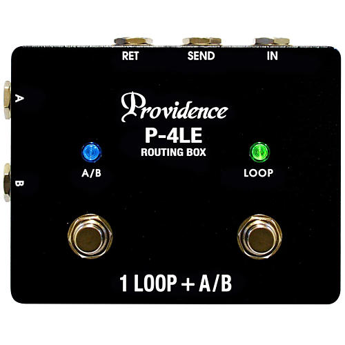 Providence P-4LE A/B Routing Box with Effects Loop