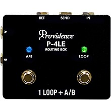 Open BoxProvidence P-4TB True Bypass Pedal