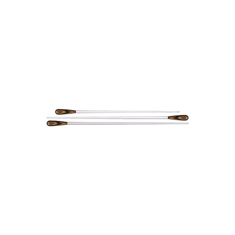 MollardP Series Zebrawood BatonWhite12 Inch