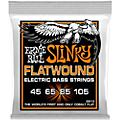 Ernie Ball P02813 Hybrid Slinky Flatwound Bass Strings