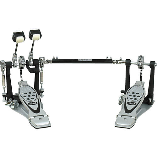 Pearl P1002L Double Pedal with Case, Left-Footed