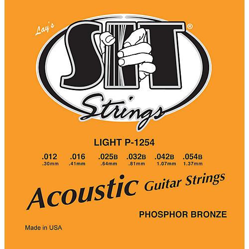 SIT Strings P1254 Light Phosphor Bronze Acoustic Guitar Strings