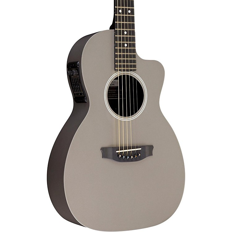 Rainsong P14 6-string Parlor with 14-fret N2 neck Pewter