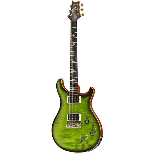 PRS P22 Flame Artist Package Electric Guitar Eriza Verde Smoke Burst