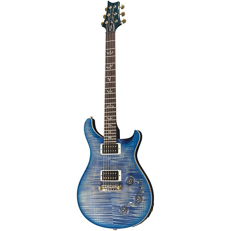 PRSP22 Pattern Regular Neck Flame 10-Top with Hybrid Hardware Electric GuitarFaded Blue Burst