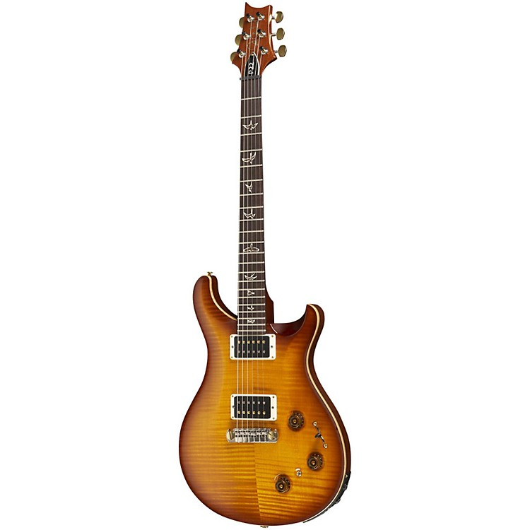 PRS P22 Pattern Regular Neck Flame 10-Top with Hybrid Hardware Electric Guitar Gold Burst