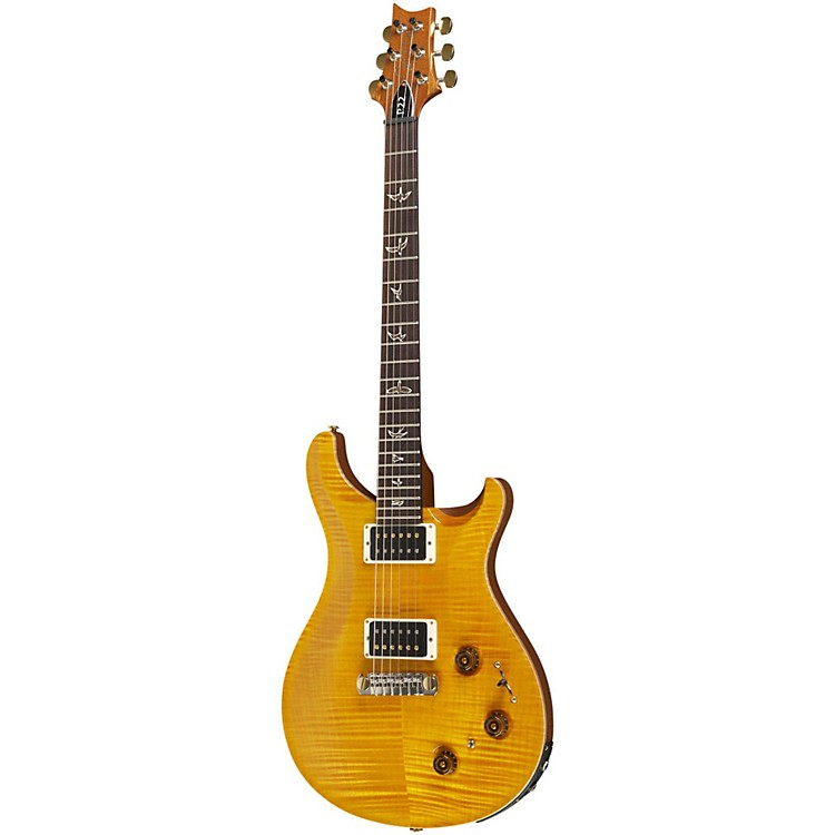 PRSP22 Pattern Regular Neck Flame 10-Top with Hybrid Hardware Electric GuitarSantana Yellow