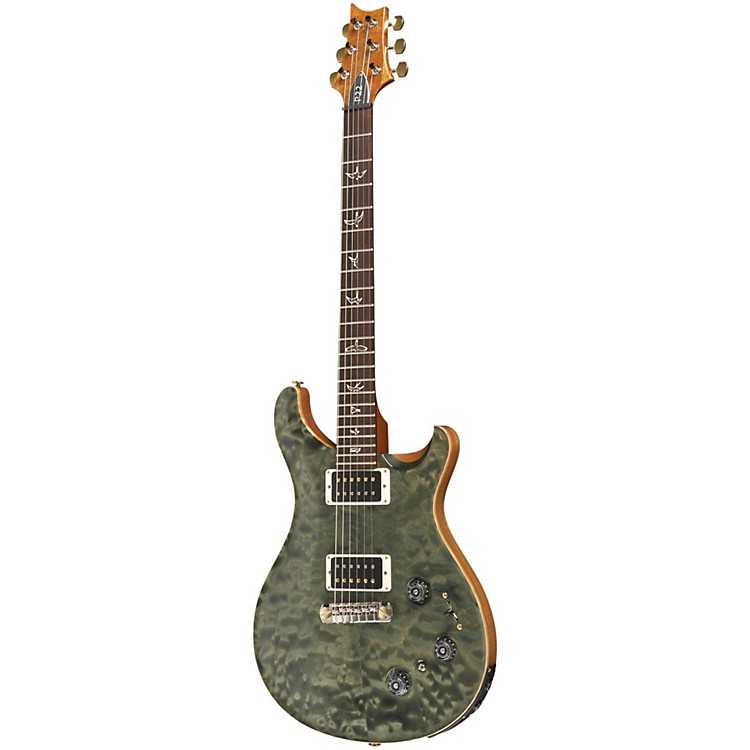 PRS P22 Pattern Regular Neck Quilt 10-Top with Hybrid Hardware Electric Guitar Trampas Green