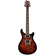 P24 Tremolo 10 Top Electric Guitar Black Gold Burst