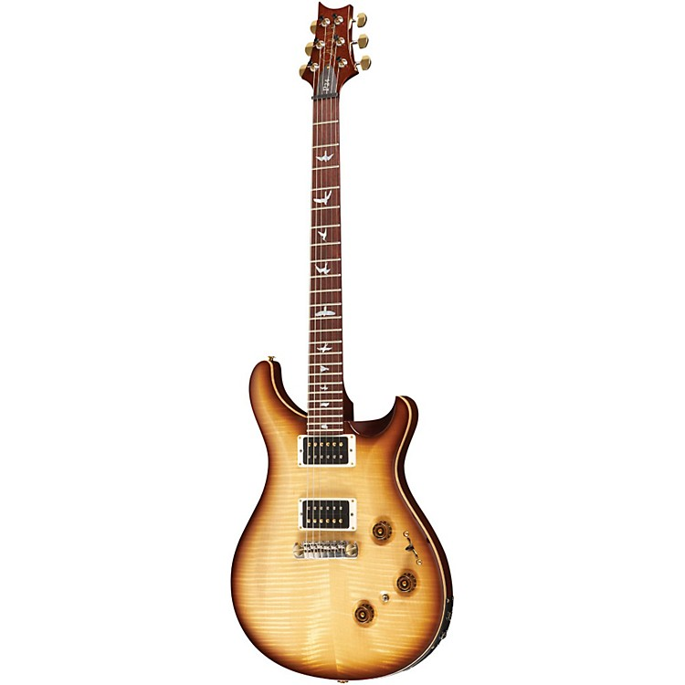PRS P24 with Pattern Neck 10-Top with Hybrid Hardware and Piezo Electric Guitar Vintage Smokeburst