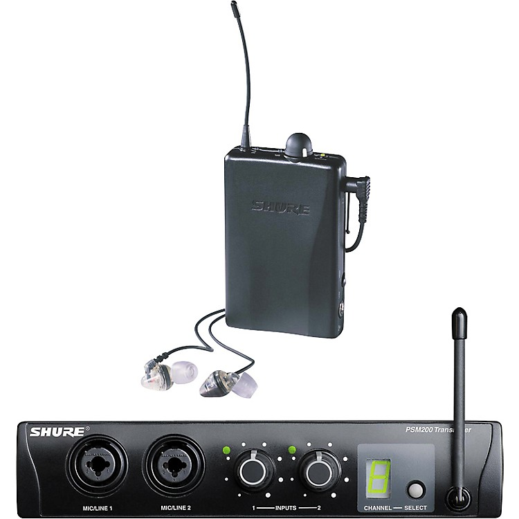 ShureP2TRE2-H2 PSM 200 Wireless Personal Monitor System