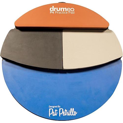 drumeo p4 practice pad musician 39 s friend. Black Bedroom Furniture Sets. Home Design Ideas