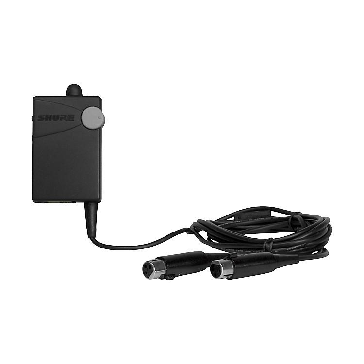 ShureP4HW Hardwired Bodypack for PSM 400 Systems