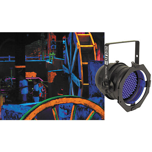 American DJ P64 LED UV LED Blacklight PAR Can