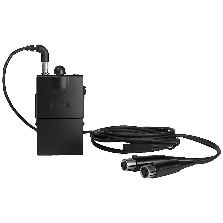 Shure P6HW Hardwired Personal Monitor Bodypack