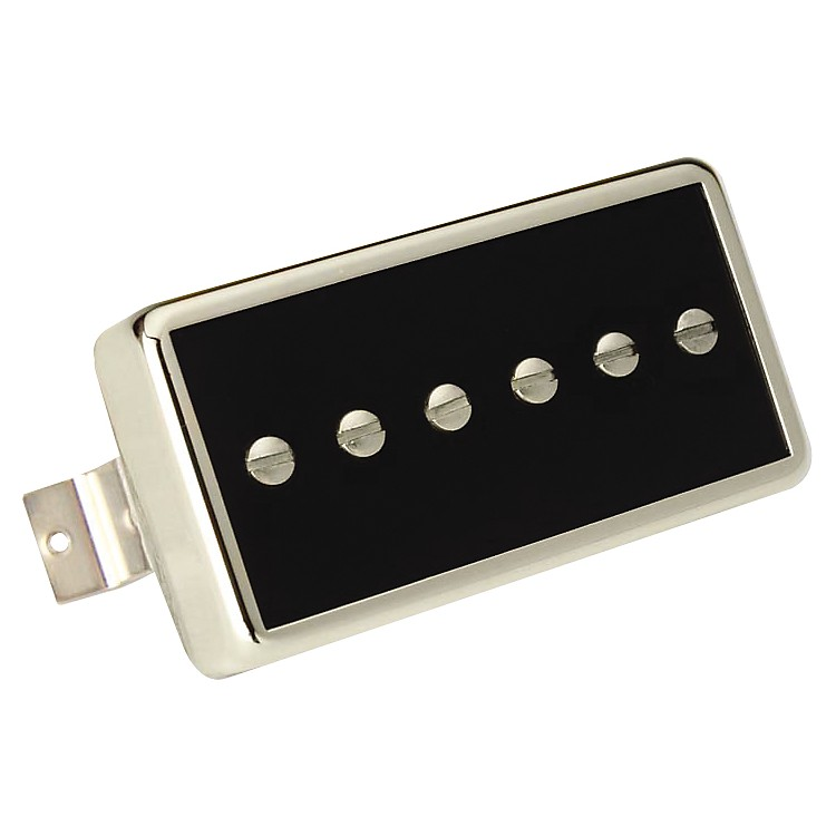 Gibson P94R Neck Pickup Black Chrome Cover