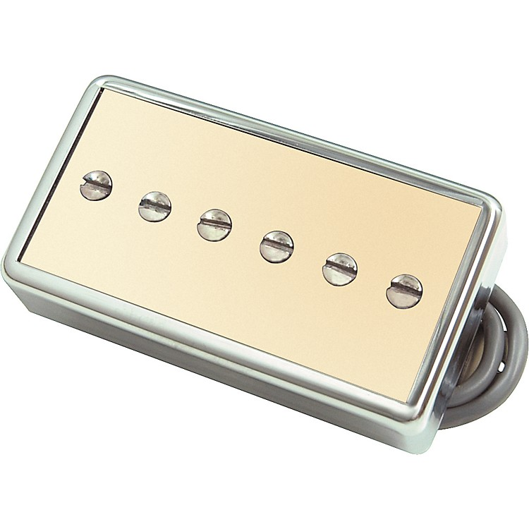 Gibson P94T Humbucker Sized P90 Bridge Pickup Creme Chrome Cover