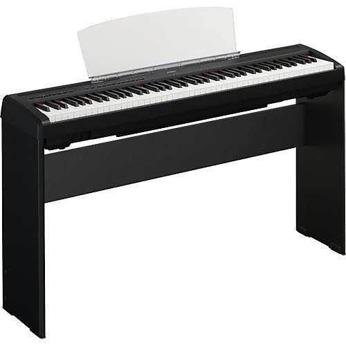 Yamaha P95 88 Key Digital Piano with L85 Stand Black