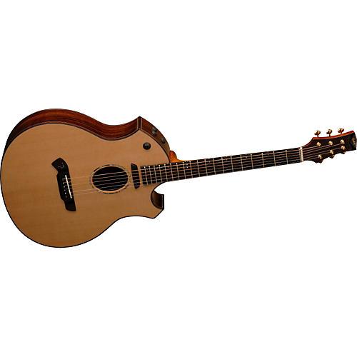 Parker Guitars P9E Acoustic-Electric Cutaway Guitar