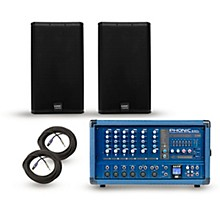 Phonic PA Package with Powerpod 630R Mixer and QSC E Series Speakers