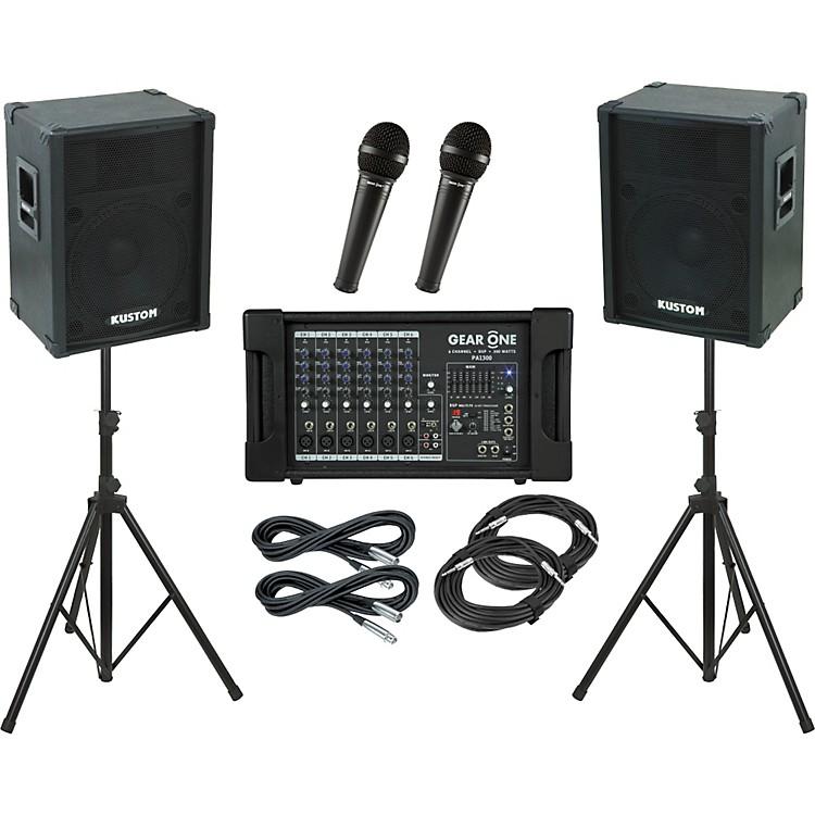 Gear OnePA1300 / Kustom KPC15 PA Package