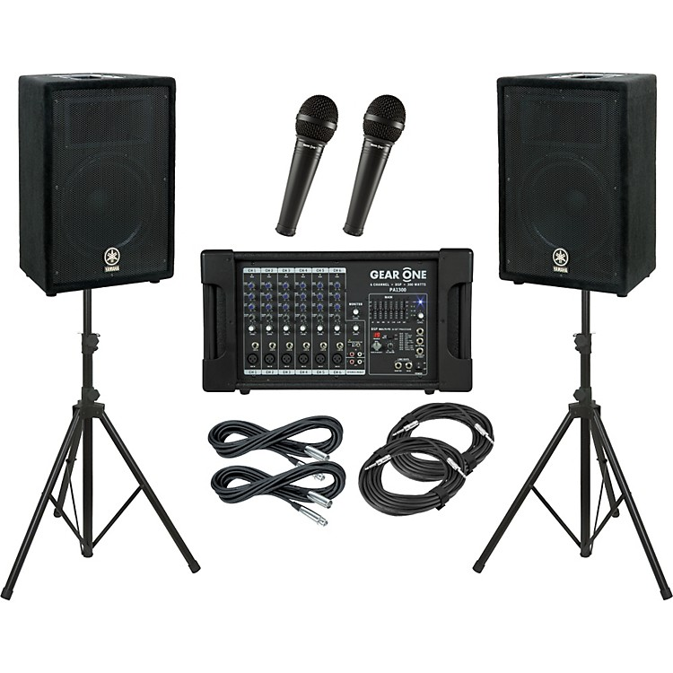 Gear One PA1300 / Yamaha A12 PA Package