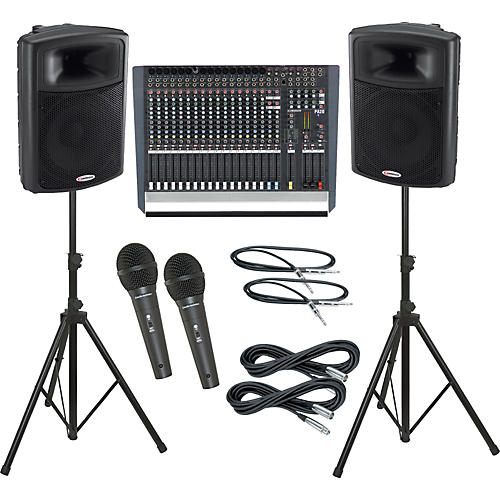 Allen & Heath PA20 / Harbinger APS15 PA Package