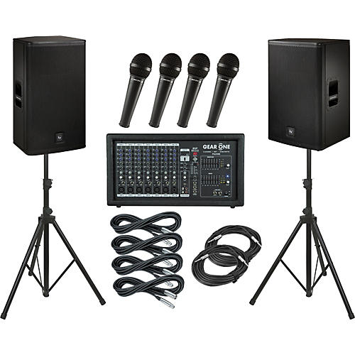 Gear One PA2400 / Electro-Voice ELX115 PA Package