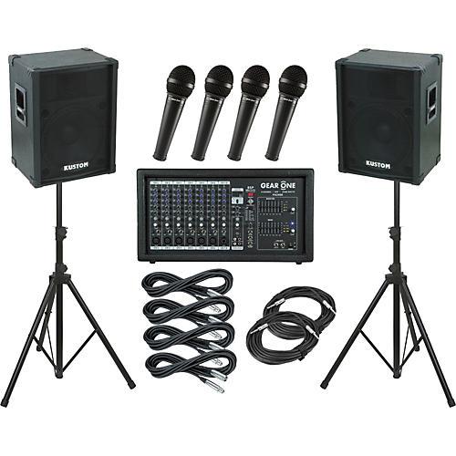 Gear One PA2400 / Kustom KPC15 PA Package