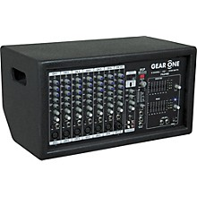 Gear One PA2400 8 Ch Powered Mixer 2 x 400 wt Level 2 Regular 888366009192