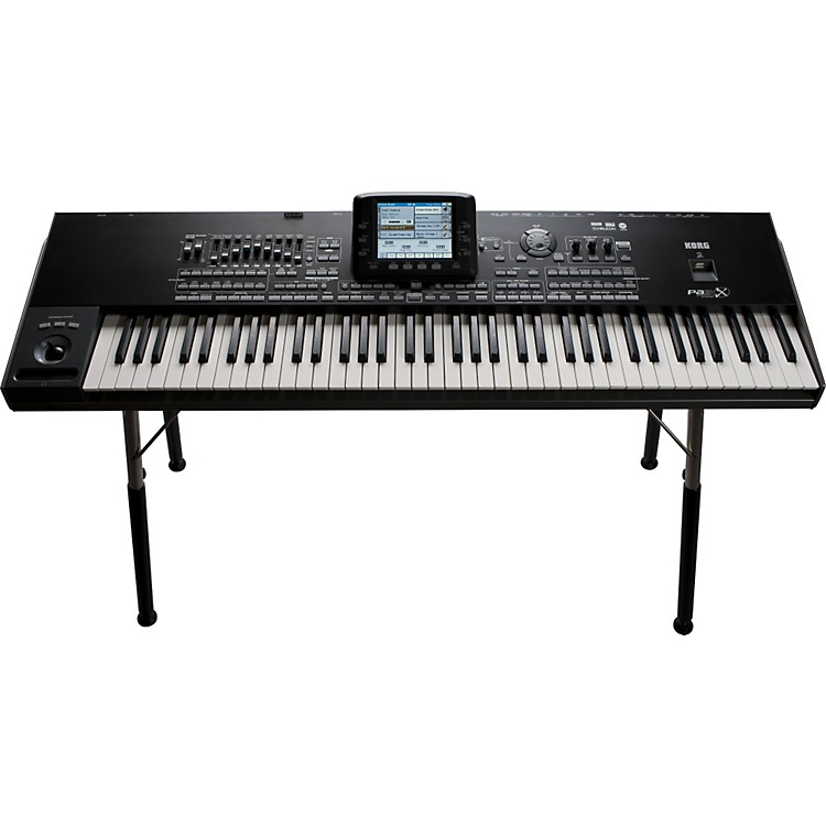 Korg PA3X76 76 Key Workstation with Touch Display