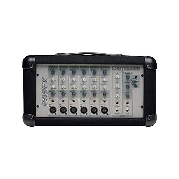 CratePA6FX 220W Powered Mixer Factory