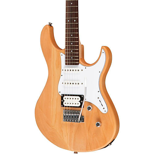 Yamaha PAC112V Electric Guitar Yellow Natural Satin