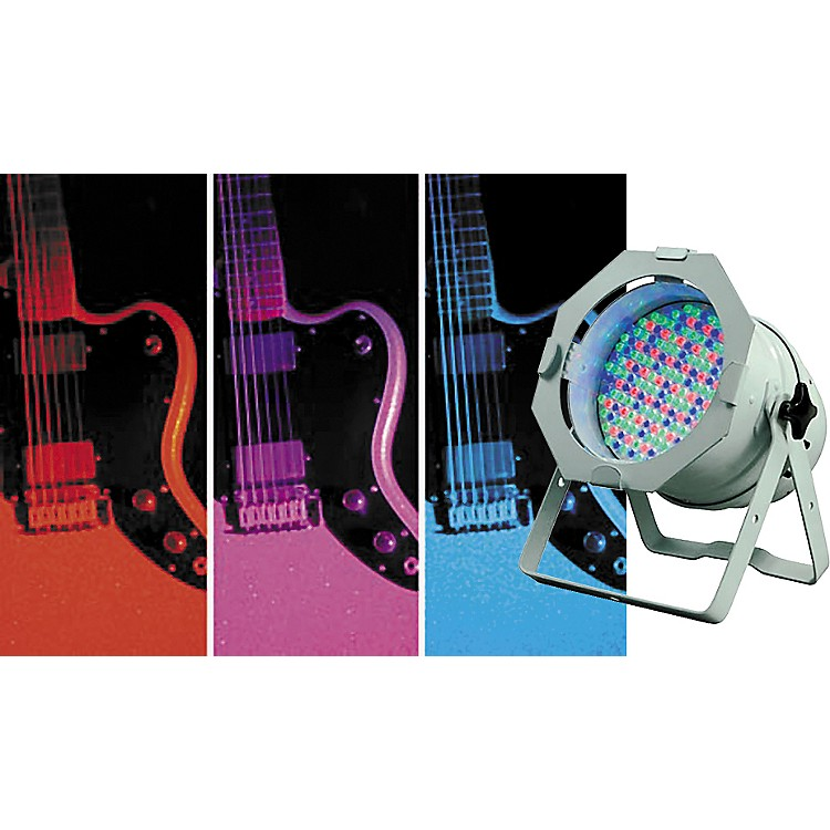 American DJPAR 64WH LED Pro Light with White Can