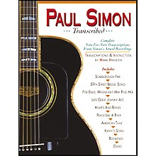 Music Sales PAUL SIMON TRANSCRIBED