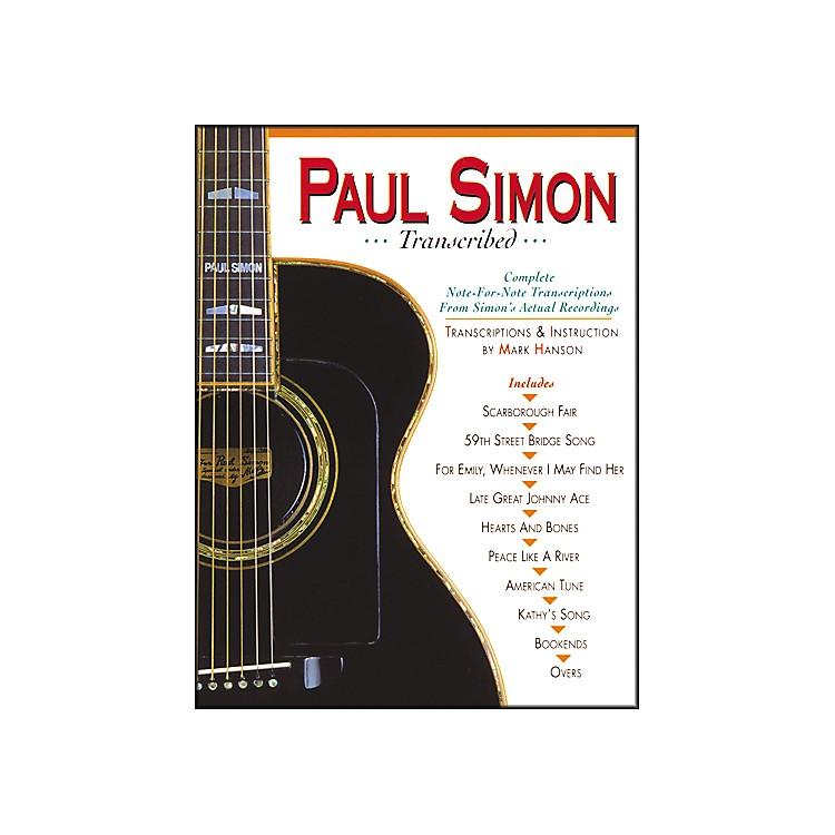 Music SalesPAUL SIMON TRANSCRIBED