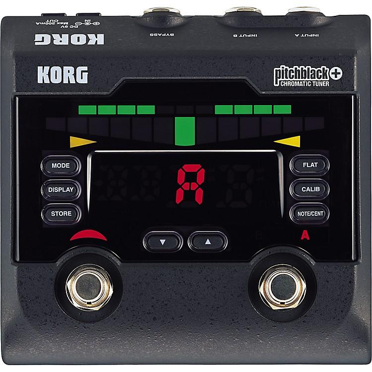 KorgPB-02 Pitchblack+ Pedal Tuner
