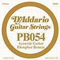 D'Addario PB054 Phosphor Bronze Single Acoustic Guitar String  Thumbnail