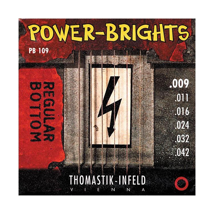 ThomastikPB109 Power-Brights Bottom Light Guitar Strings