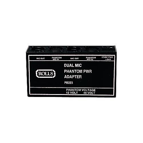 Rolls PB223 DUAL PHANTOM POWER ADAPTER
