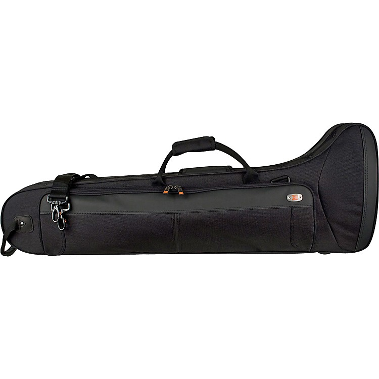ProtecPB306CTCH Contoured Straight/F Attachment Tenor Trombone PRO PAC CasePB306CT Black