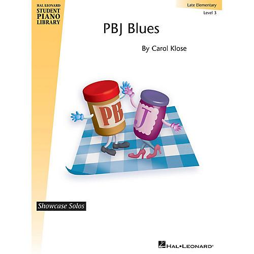 Hal Leonard PBJ Blues Piano Library Series by Carol Klose (Level Late Elem)