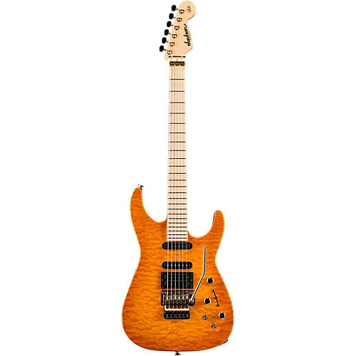 Jackson PC-1 Phil Collen USA Electric Guitar Solar Flame Maple Fingerboard